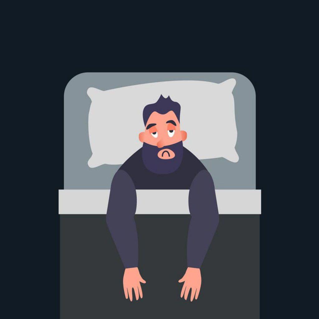 بیماری بیخوابی insomnia