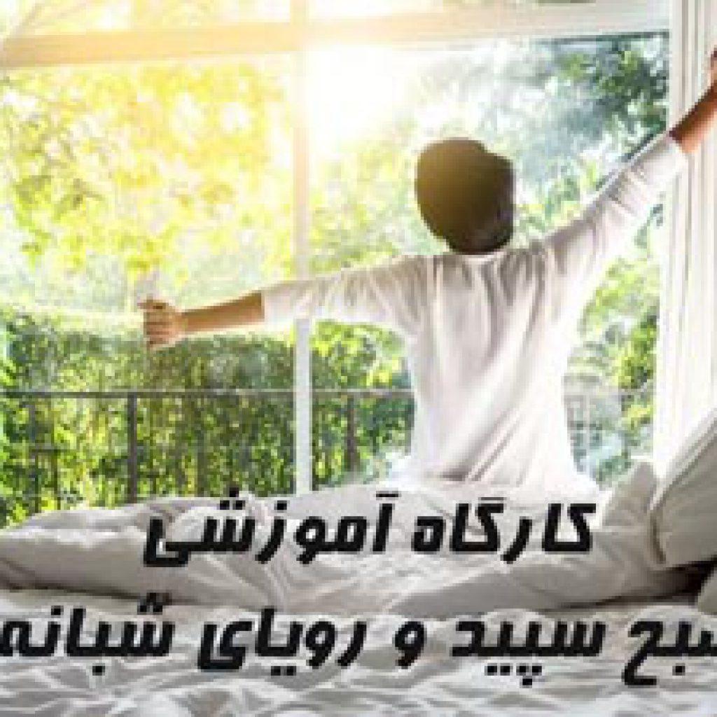 کارگاه مجازی صبح سپید و رویای شبانه